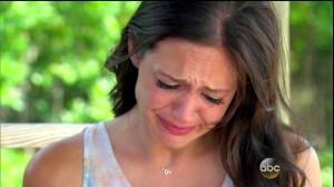 bachelorette crying
