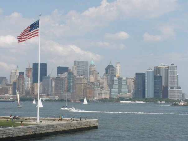 NYC Skyline without the Twin Towers