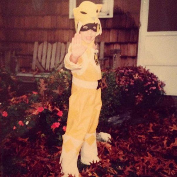 Trini, the Yellow Power Ranger